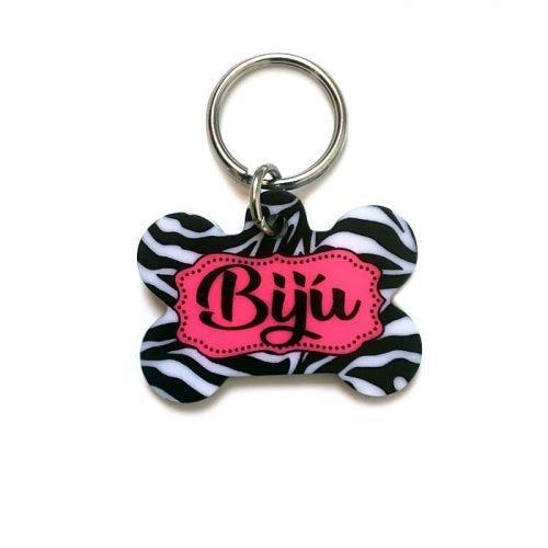 Plaquinha- Tag de identificação-Zebra