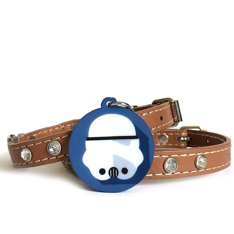 Plaquinha-Tag de identificacão de cães- stormtrooper