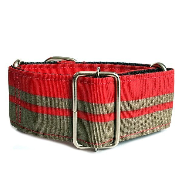 Martingale Red patchwork-Italian, Whippets e Greyhounds