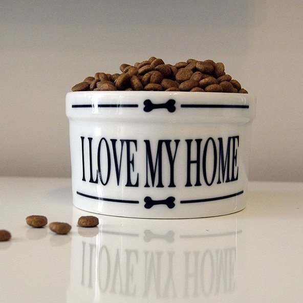 Pet Bowl- Love my home