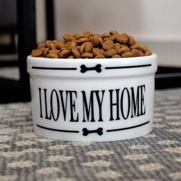 Pet Bowl- Love my home