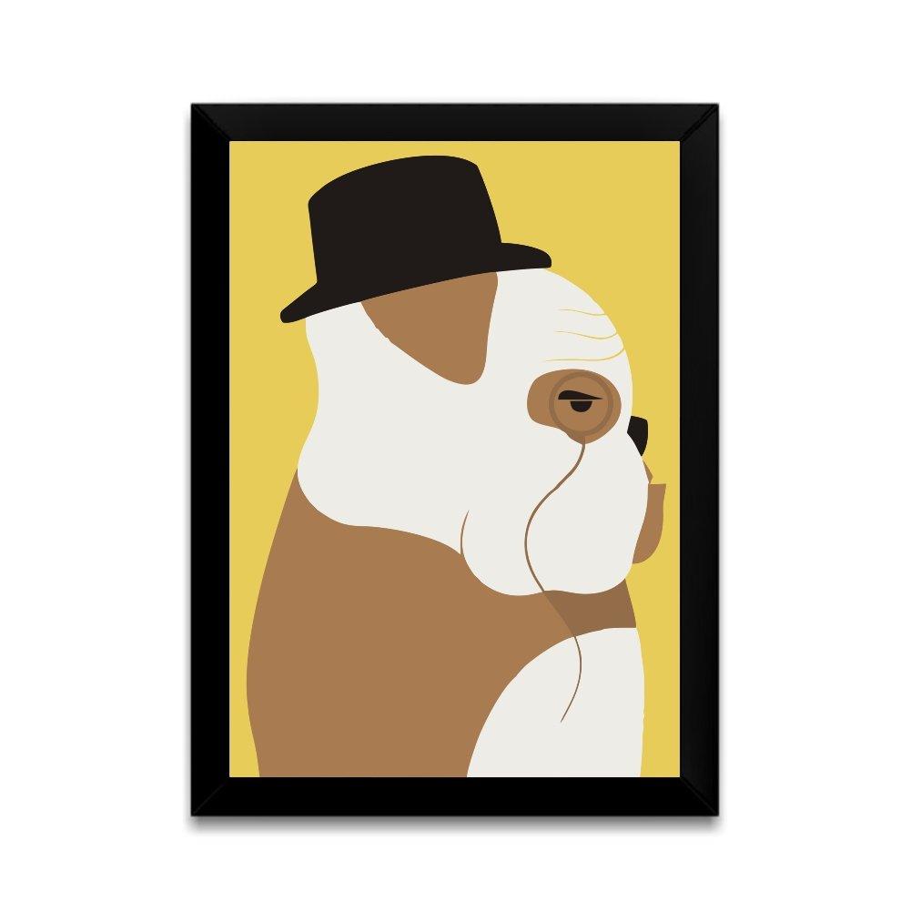 Quadro Sr Bulldog Inglês